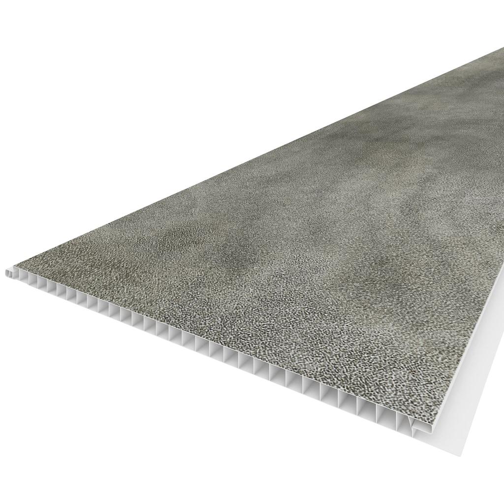 Baukulit VOX Verkleidungspaneel »Dusky«, 3D Effekt, schwarz