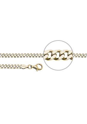 Der Kettenmacher Silberkette »Panzerkette diamantiert, P4-S, P4-G« kaufen