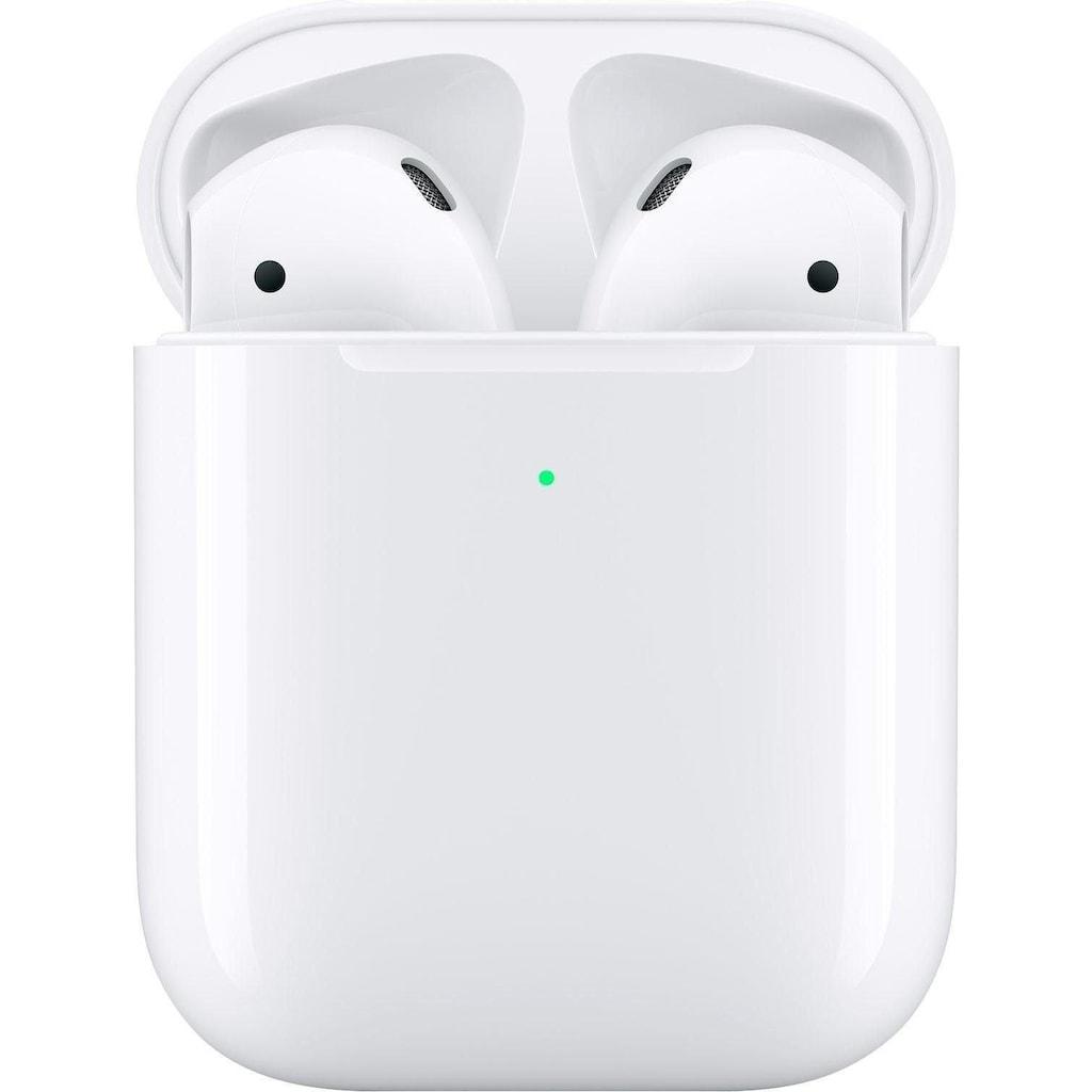 Apple wireless In-Ear-Kopfhörer »AirPods (2019), mit Ladecase«, MV7N2ZM/A