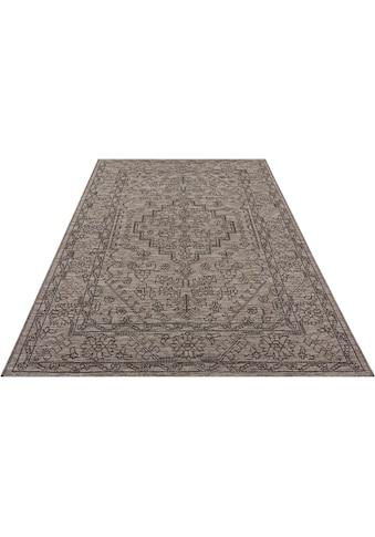 bougari Teppich »Tyros«, rechteckig, 4 mm Höhe, In- und Outdoor geeignet, Flachgewebe,... kaufen