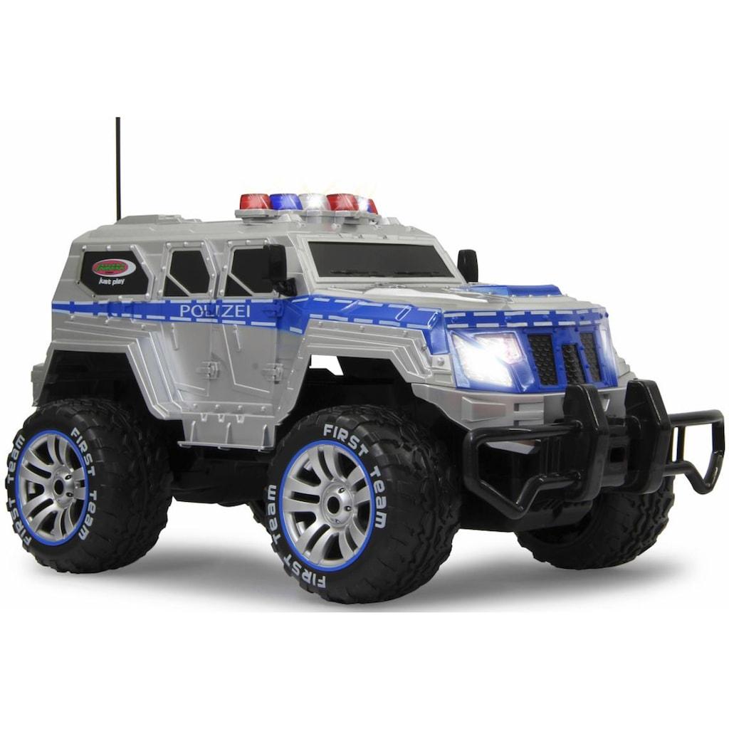 Jamara RC-Monstertruck »Polizei Panzerwagen«