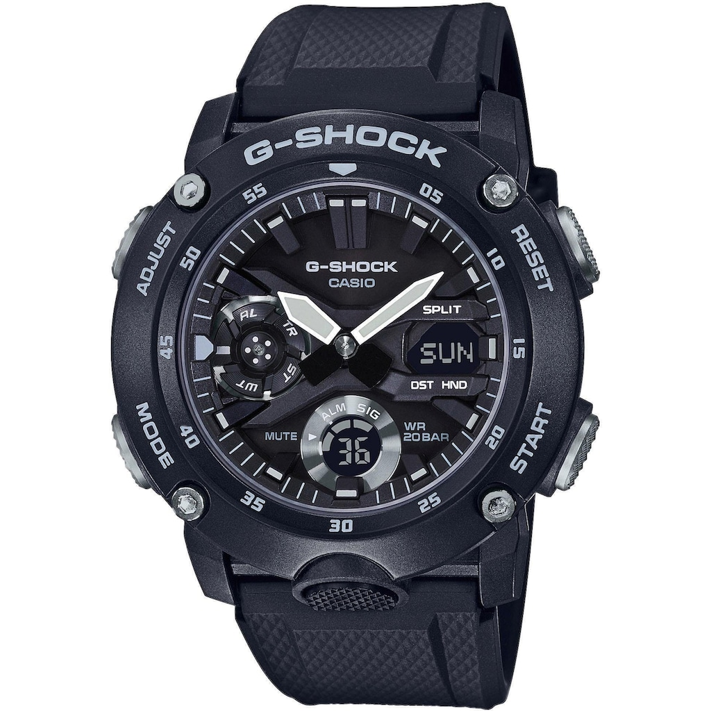 CASIO G-SHOCK Chronograph »GA-2000S-1AER«