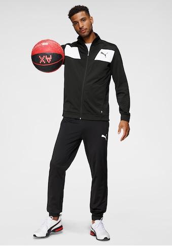 PUMA Trainingsanzug »Techstripe Tricot Suit cl«, (Set, 2 tlg.) kaufen
