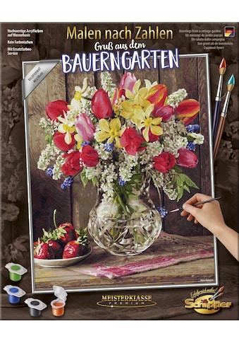 Schipper Malen nach Zahlen »Meisterklasse Premium, Gruß aus dem Bauerngarten«, Made in... kaufen