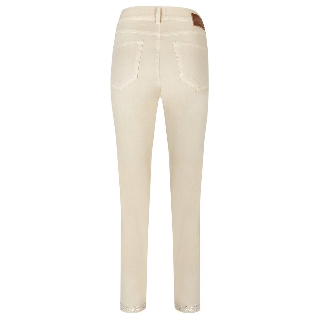ANGELS Ankle-Jeans,Ornella Fancy' mit Glitzerapplikationen am Saum
