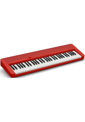 CASIO Keyboard »Piano-Keyboard CT-S1RDSP«, ideal für Piano-Einsteiger und... kaufen