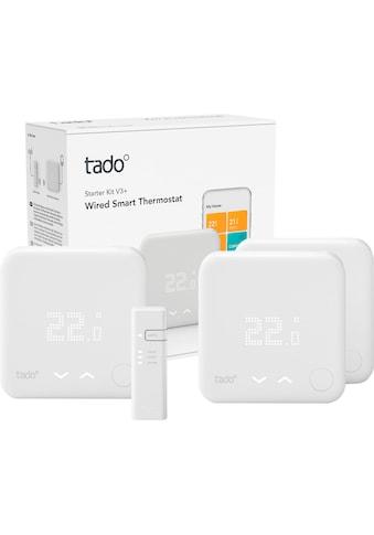 Tado Raumthermostat »Smart Thermostat-Starter Kit V3+ mit 2 zusätzlichen Smart... kaufen