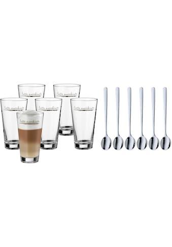 WMF Gläser-Set »Clever&More«, (Set, 12 tlg., 6x Latte Macchiato Gläser-6x Latte... kaufen