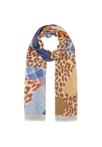 Codello XL-Schal im Multi-Mustermix aus Baumwolle und Modal kaufen