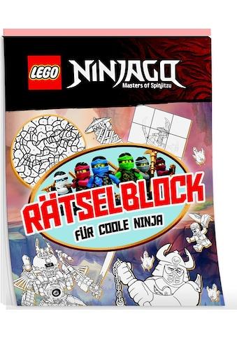 Buch »LEGO® NINJAGO® Rätselblock für coole Ninja / DIVERSE« kaufen