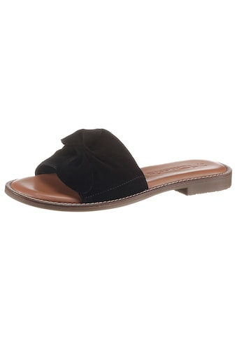 Tamaris Pantolette »JAGAR«, mit modischer Zierschleife kaufen