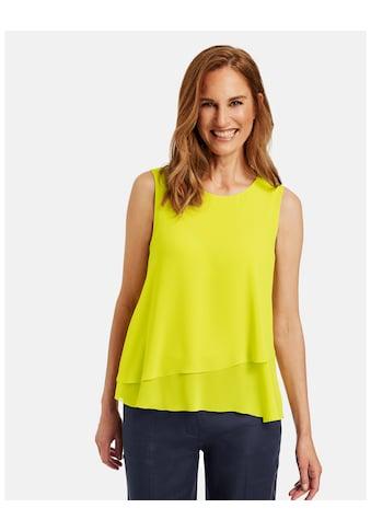 GERRY WEBER Klassische Bluse »Blusentop im Lagenlook« kaufen