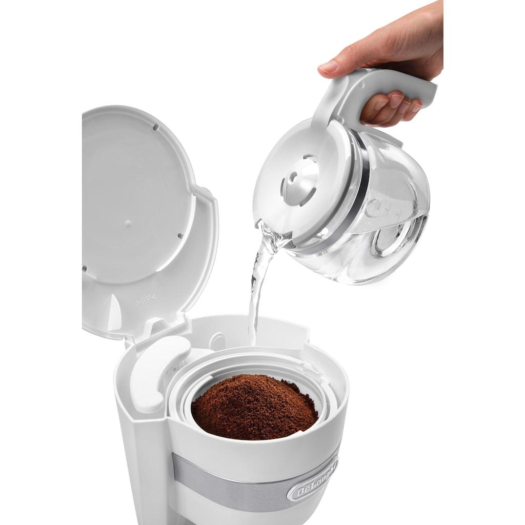 De'Longhi Filterkaffeemaschine »ACTIVE LINE ICM14011.W«, Permanentfilter