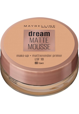 MAYBELLINE NEW YORK Make-up »Dream Matte Mousse« kaufen