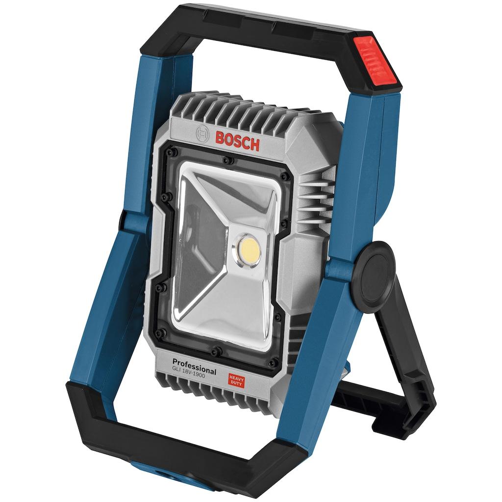 Bosch Professional LED Arbeitsleuchte »GLI 18V-1900«, 14,4 V, 1900 lm, ohne Akku und Ladegerät