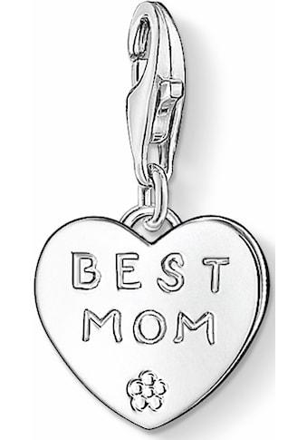 THOMAS SABO Charm - Einhänger »BEST MOM, 0821 - 001 - 12« kaufen