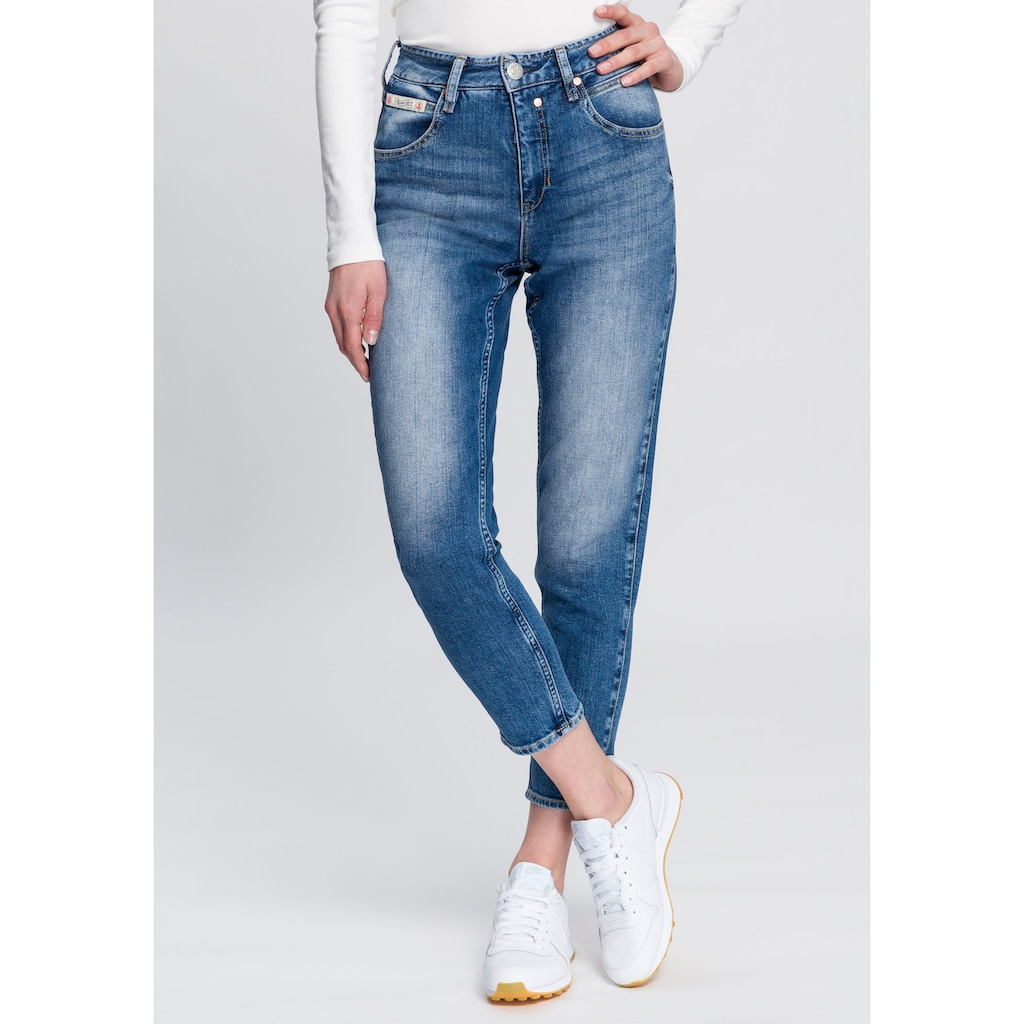 Herrlicher High-waist-Jeans »TOUCH HI CONIC«, umweltfreundlich dank dem Einsatz von Recycled Denim