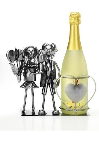 Home affaire Weinflaschenhalter »Brautpaar« kaufen