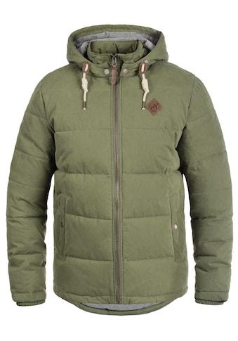 Solid Steppjacke »Dry«, warme Jacke mit abnehmbarer Kapuze kaufen