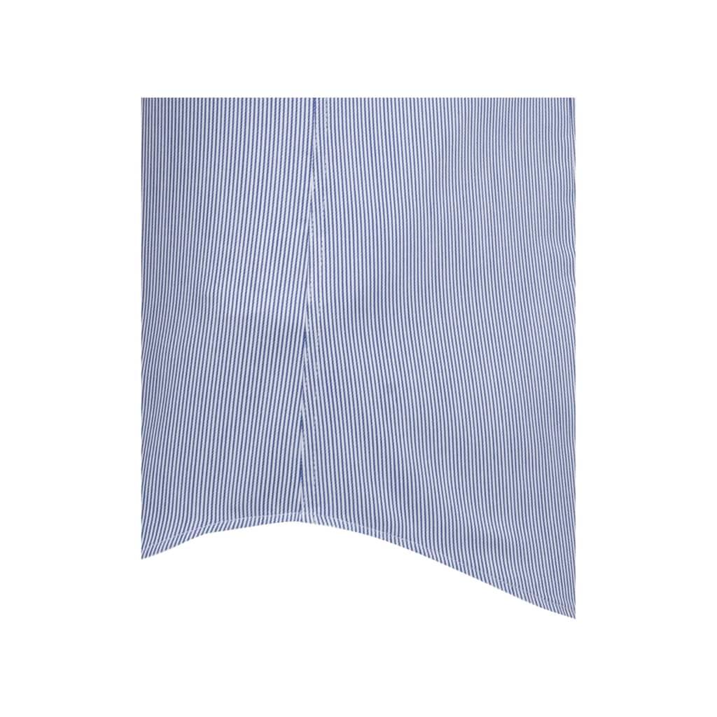 seidensticker Businesshemd »Shaped«, Shaped Kurzarm Kentkragen Streifen