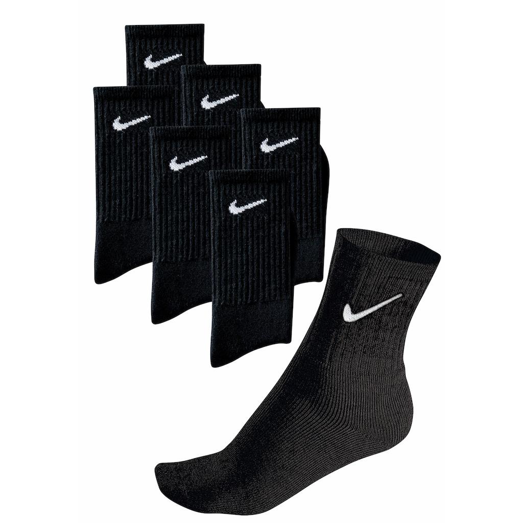 Nike Sportsocken, (6 Paar), mit Fußfrottee