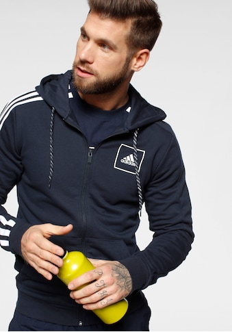 adidas Performance Kapuzensweatjacke »M 3 STRIPES TAPE FULL ZIP« kaufen