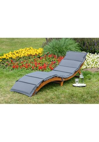 MERXX Gartenliege »Honopu«, mit Auflagen, klappbar kaufen