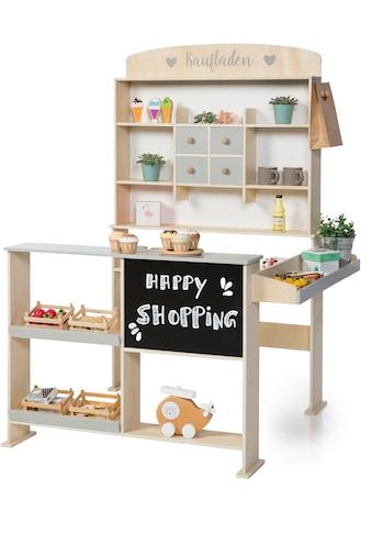 Sun Kaufladen »Natur, weiß/grau«, mit Kreidetafel kaufen