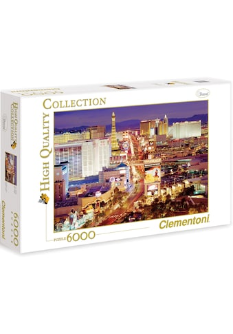 Clementoni® Puzzle »High Quality Collection - Las Vegas«, Made in Europe kaufen