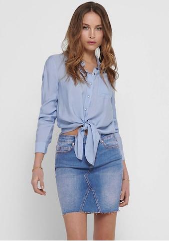 Only Hemdbluse »ONLDANI«, in Denim Optik kaufen