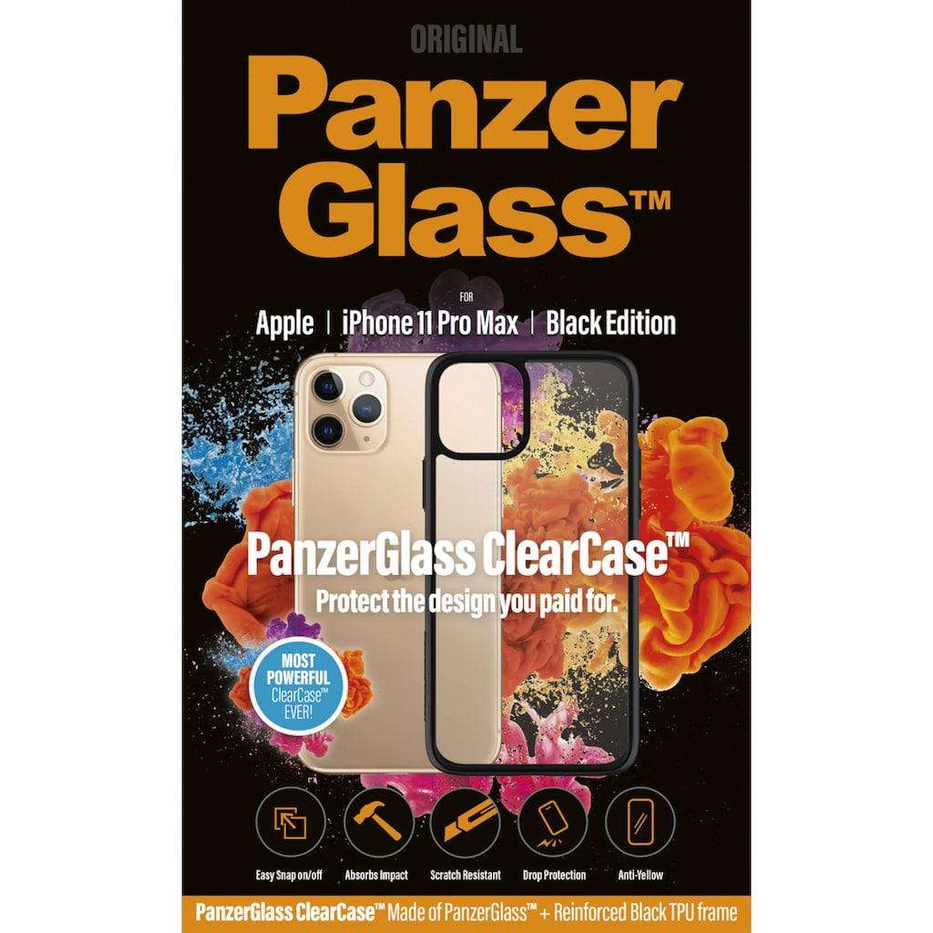 PanzerGlass Handyhülle »ClearCase mit Blackframe für iPhone 11 Pro Max«, Cover