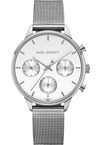 PAUL HEWITT Multifunktionsuhr »Everpulse White Sand Silber Mesh, PH002814« kaufen