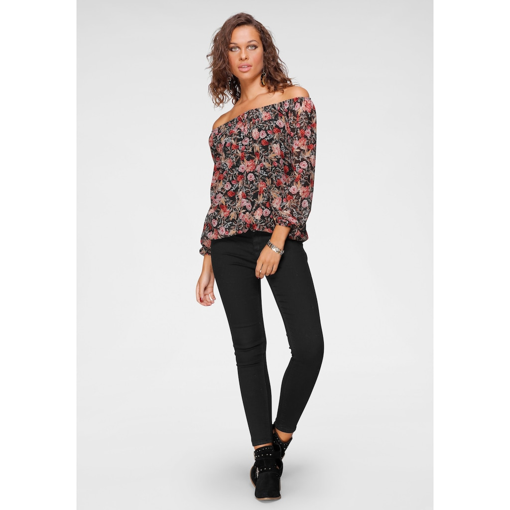 HaILY'S Push-up-Jeans »PUSH«, in 7/8- Länge