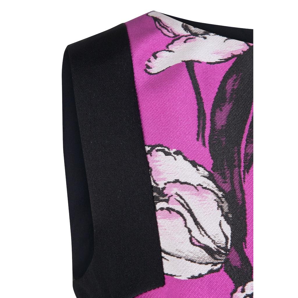 Nicowa Elegantes Kleid PAULA mit femininem Blumen-Muster