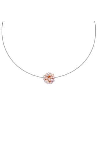 Valero Pearls Perlenkette »VP813«, (1 tlg.), mit Süßwasser-Zuchtperlen kaufen