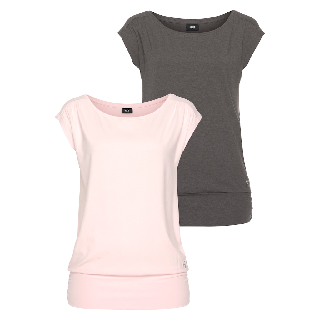 H.I.S T-Shirt »Nachhaltige Viskose«