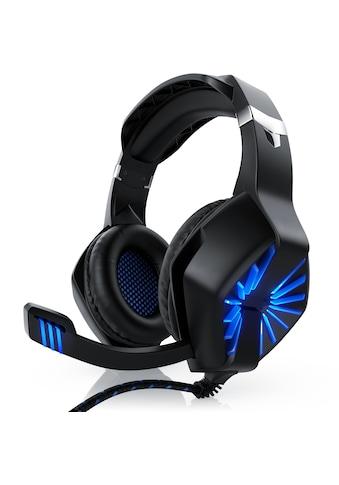 "CSL USB Gaming Headset ""GHS - 102"" mit Mikrofon »Kopfhörer für PC (Win XP/7/8/8.1/10), PS4/4 Pro« kaufen"