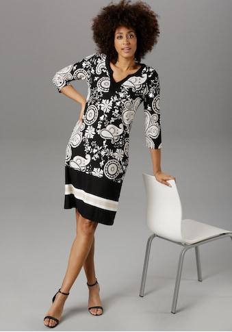 Aniston SELECTED Jerseykleid, im Paisley-Muster - NEUE KOLLEKTION kaufen