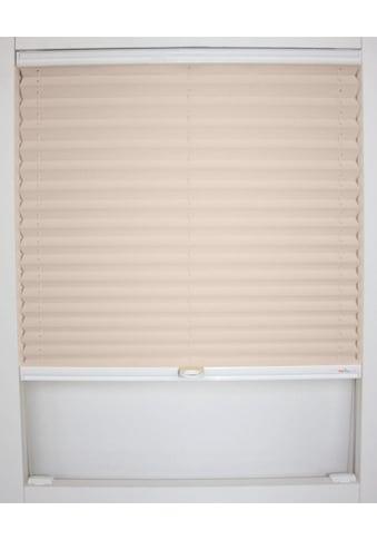 sunlines Dachfensterplissee nach Maß »Medoc«, verdunkelnd, energiesparend, mit Bohren, verspannt kaufen