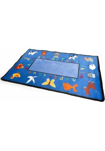 Primaflor-Ideen in Textil Kinderteppich »BILDER & BUCHSTABEN«, rechteckig, 5 mm Höhe,... kaufen