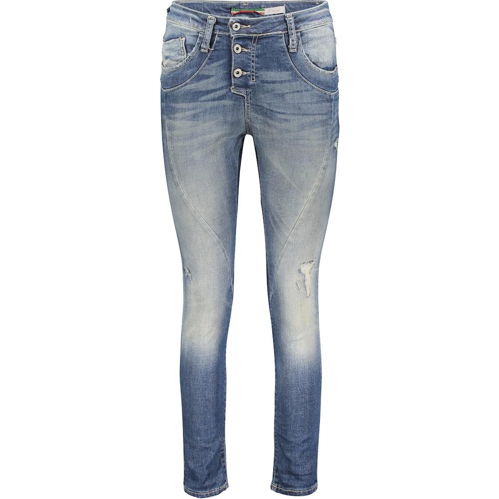 Please Jeans Boyfriend-Jeans »P 78A«, mit leichtem Destroyed Effekt