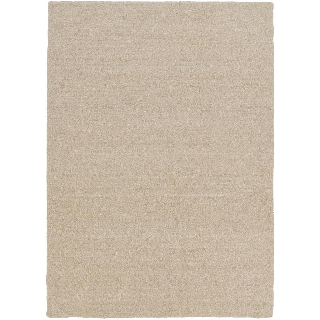 ASTRA Hochflor-Teppich »Livorno Melange«, rechteckig, 27 mm Höhe, Besonders weich durch Microfaser, Wohnzimmer