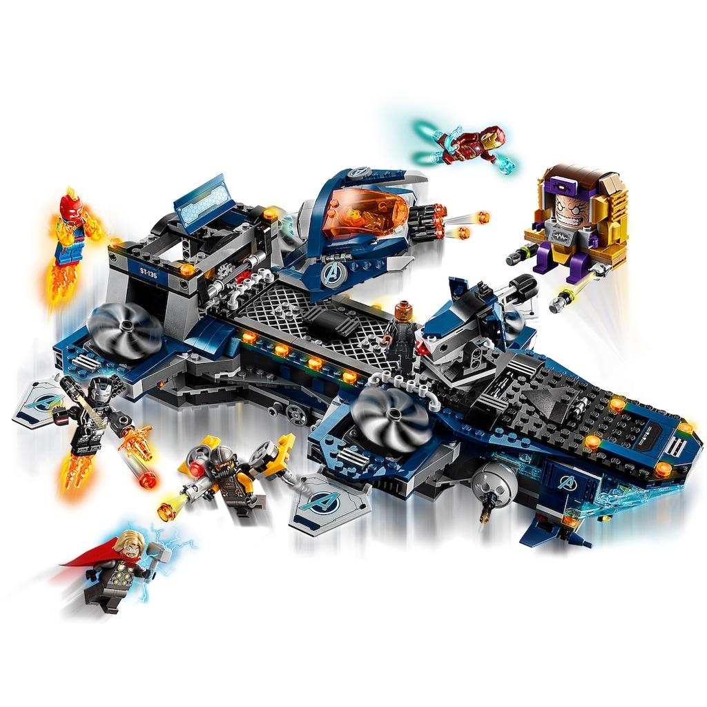 LEGO® Konstruktionsspielsteine »Avengers Helicarrier (76153), LEGO® Marvel Super Heroes™«, (1244 St.), Made in Europe