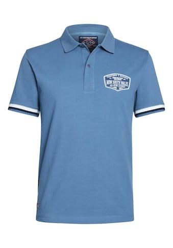 AHORN SPORTSWEAR Poloshirt mit modischem Print kaufen
