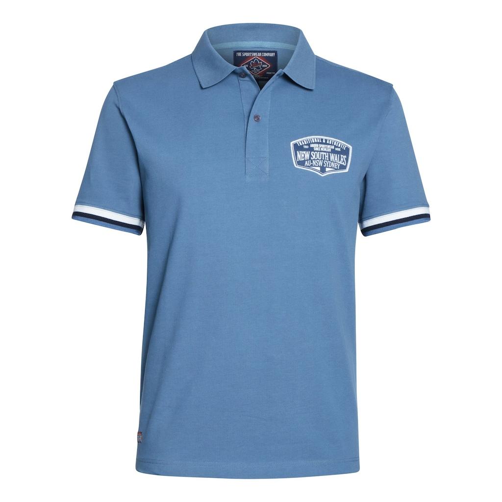 AHORN SPORTSWEAR Poloshirt mit modischem Print