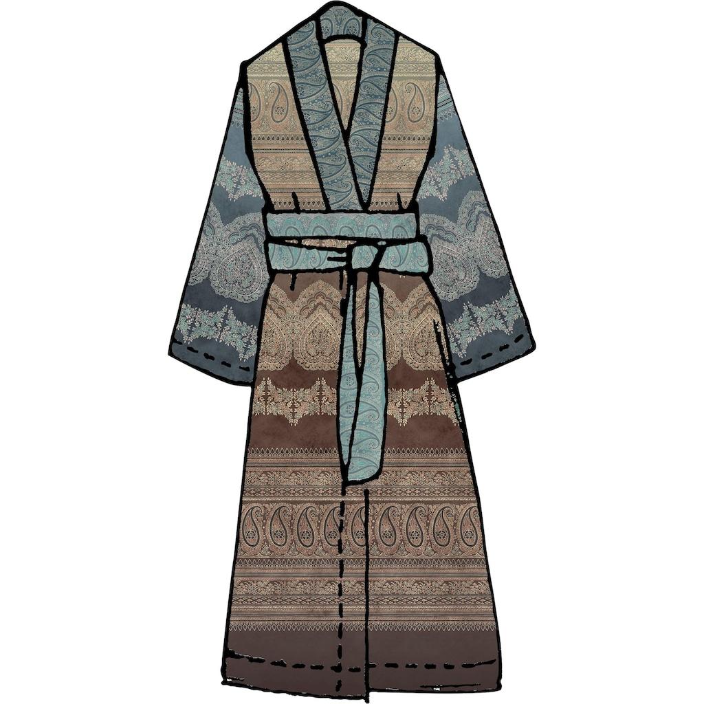 Bassetti Damenbademantel »Brunelleschi«, (1 St.), in Kimonoform