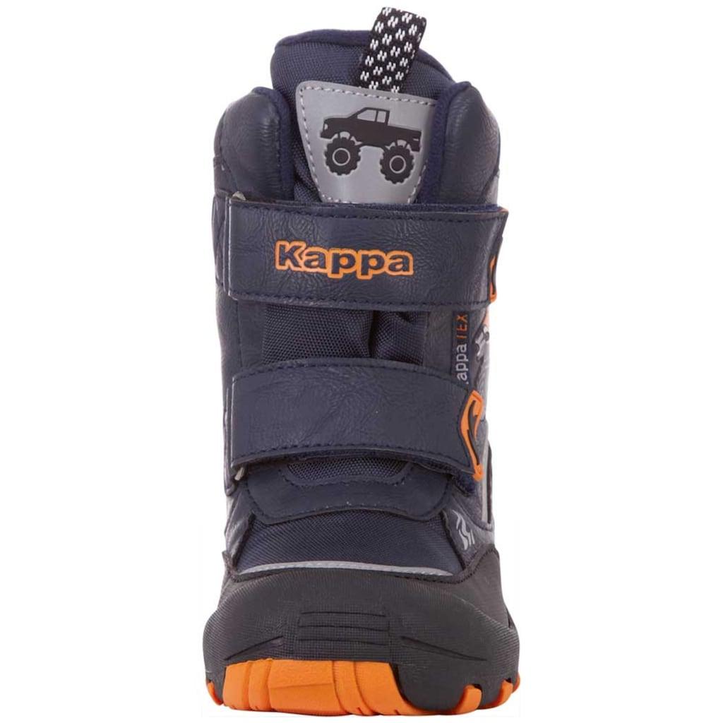Kappa Winterboots »BIG WHEEL TEX KIDS«, mit kuschelig-wärmender Innenausstattung