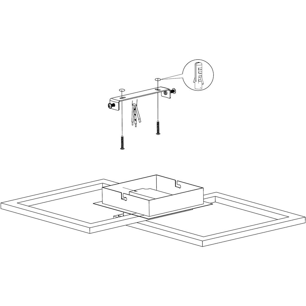 EGLO LED Deckenleuchte, LED-Board, 1 St., Warmweiß, minimalistische, zeitlose Form