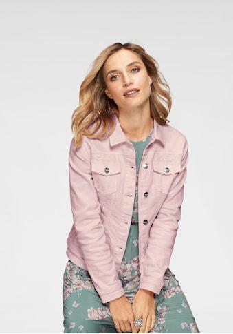 Aniston CASUAL Jeansjacke, in zartem Pastell kaufen