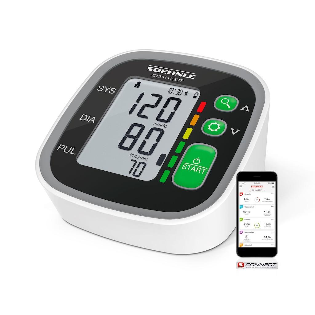 Soehnle Oberarm-Blutdruckmessgerät »Systo Monitor Connect 300«, mit Anbindung an die Soehnle Connect-App